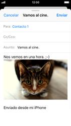Apple iPhone 5s - iOS 11 - E-mail - Escribir y enviar un correo electrónico - Paso 14