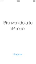 Apple iPhone 6s iOS 10 - Primeros pasos - Activar el equipo - Paso 26