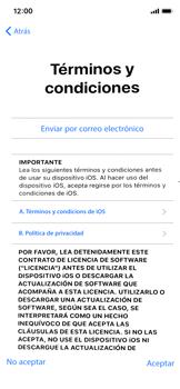 Apple iPhone X - Primeros pasos - Activar el equipo - Paso 19