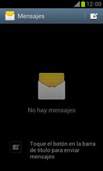 Samsung S7560 Galaxy Trend - MMS - Configurar el equipo para mensajes de texto - Paso 4