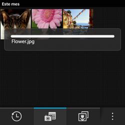 BlackBerry Q5 - Connection - Transferir archivos a través de Bluetooth - Paso 11