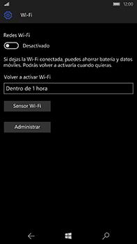 Microsoft Lumia 950 XL - WiFi - Conectarse a una red WiFi - Paso 6