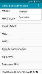 Samsung A500FU Galaxy A5 - MMS - Configurar el equipo para mensajes multimedia - Paso 15