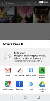 LG G6 - Connection - Transferir archivos a través de Bluetooth - Paso 9