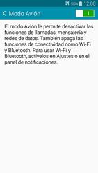 Samsung A500FU Galaxy A5 - Red - Activar o desactivar el modo avión - Paso 6