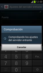 Samsung S7560 Galaxy Trend - E-mail - Configurar correo electrónico - Paso 11