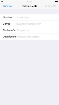 Apple iPhone 7 Plus iOS 11 - E-mail - Configurar correo electrónico - Paso 7