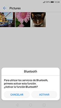 Huawei P10 Plus - Connection - Transferir archivos a través de Bluetooth - Paso 9