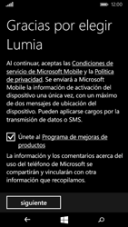 Microsoft Lumia 535 - Primeros pasos - Activar el equipo - Paso 17