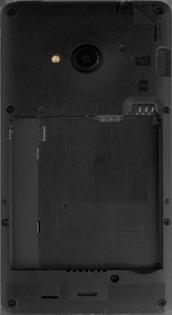 Microsoft Lumia 535 - Primeros pasos - Quitar y colocar la batería - Paso 3