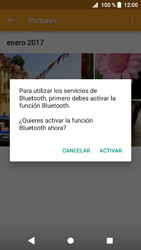 Sony Xperia XZ1 - Connection - Transferir archivos a través de Bluetooth - Paso 13