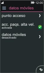 Nokia Asha 311 - Internet - Activar o desactivar la conexión de datos - Paso 8