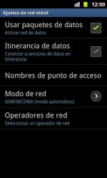 Samsung I8160 Galaxy Ace II - MMS - Configurar el equipo para mensajes multimedia - Paso 6