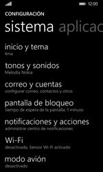 Nokia Lumia 635 - Red - Activar o desactivar el modo avión - Paso 4