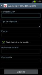 Samsung I9300 Galaxy S III - E-mail - Configurar correo electrónico - Paso 10