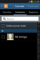 Samsung S6310 Galaxy Young - E-mail - Escribir y enviar un correo electrónico - Paso 6