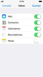 Apple iPhone SE - iOS 11 - E-mail - Configurar Yahoo! - Paso 8