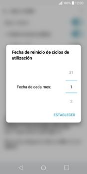 LG Q6 - Internet - Ver uso de datos - Paso 6