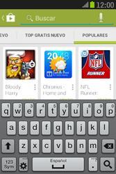 Samsung S6310 Galaxy Young - Aplicaciones - Descargar aplicaciones - Paso 14