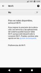 Sony Xperia XZ1 - WiFi - Conectarse a una red WiFi - Paso 6
