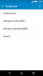 HTC One M8 - MMS - Configurar el equipo para mensajes de texto - Paso 7
