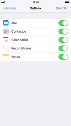Apple iPhone 6s iOS 11 - E-mail - Configurar Outlook.com - Paso 9