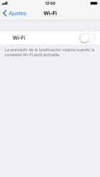 Apple iPhone 5s - iOS 11 - WiFi - Conectarse a una red WiFi - Paso 4