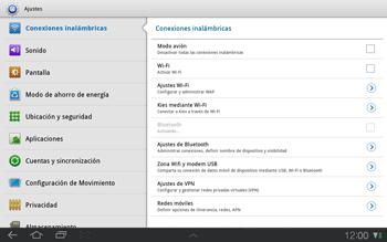 Samsung P7500 Galaxy Tab 10-1 - Internet - Activar o desactivar la conexión de datos - Paso 4