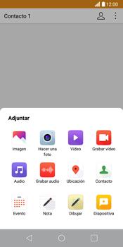 LG G6 - MMS - Escribir y enviar un mensaje multimedia - Paso 14