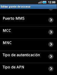 Samsung S5570 Galaxy Mini - Internet - Configurar Internet - Paso 10