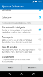 HTC One M9 - E-mail - Configurar Outlook.com - Paso 8