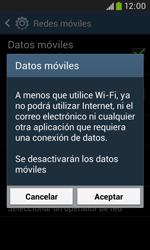 Samsung S7580 Galaxy Trend Plus - Internet - Activar o desactivar la conexión de datos - Paso 7