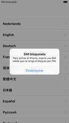 Apple iPhone 6s iOS 11 - Primeros pasos - Activar el equipo - Paso 4