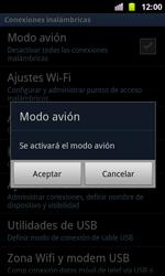 Samsung I8160 Galaxy Ace II - Red - Activar o desactivar el modo avión - Paso 6