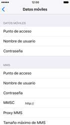 Apple iPhone 5s iOS 10 - Internet - Configurar Internet - Paso 7