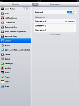 Apple iPad 2 - Connection - Conectar dispositivos a través de Bluetooth - Paso 6