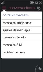 Nokia Asha 311 - MMS - Configurar el equipo para mensajes de texto - Paso 4