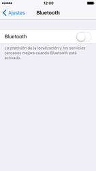 Apple iPhone SE - iOS 10 - Connection - Conectar dispositivos a través de Bluetooth - Paso 4