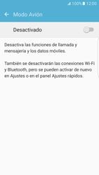 Samsung Galaxy S7 Edge - Red - Activar o desactivar el modo avión - Paso 5