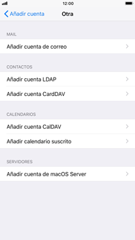 Apple iPhone 7 Plus iOS 11 - E-mail - Configurar correo electrónico - Paso 6