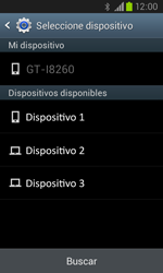 Samsung I8260 Galaxy Core - Connection - Transferir archivos a través de Bluetooth - Paso 12