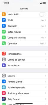 Apple iPhone X - Internet - Activar o desactivar la conexión de datos - Paso 3