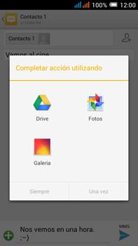 Alcatel Pop C9 - MMS - Escribir y enviar un mensaje multimedia - Paso 15