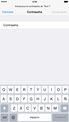 Apple iPhone 6 Plus iOS 8 - WiFi - Conectarse a una red WiFi - Paso 6
