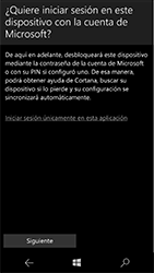 Microsoft Lumia 950 - E-mail - Configurar Outlook.com - Paso 11