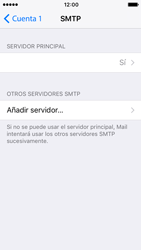 Apple iPhone SE - iOS 10 - E-mail - Configurar correo electrónico - Paso 18