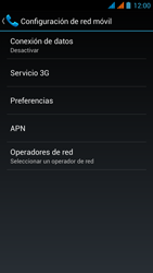 Wiko Stairway - Internet - Activar o desactivar la conexión de datos - Paso 8