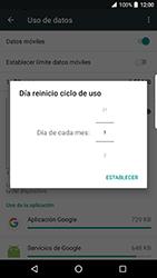 BlackBerry DTEK 50 - Internet - Ver uso de datos - Paso 7