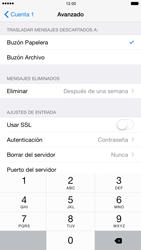 Apple iPhone 6 Plus iOS 8 - E-mail - Configurar correo electrónico - Paso 24