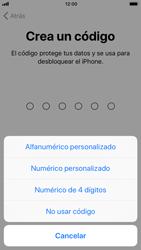 Apple iPhone 6s iOS 11 - Primeros pasos - Activar el equipo - Paso 14